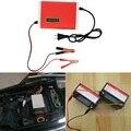 Новый 12 В 6А Цифровой ЖК Автомобильное Зарядное Устройство Свинцово-Кислотные Мотоцикл питания зарядное устройство