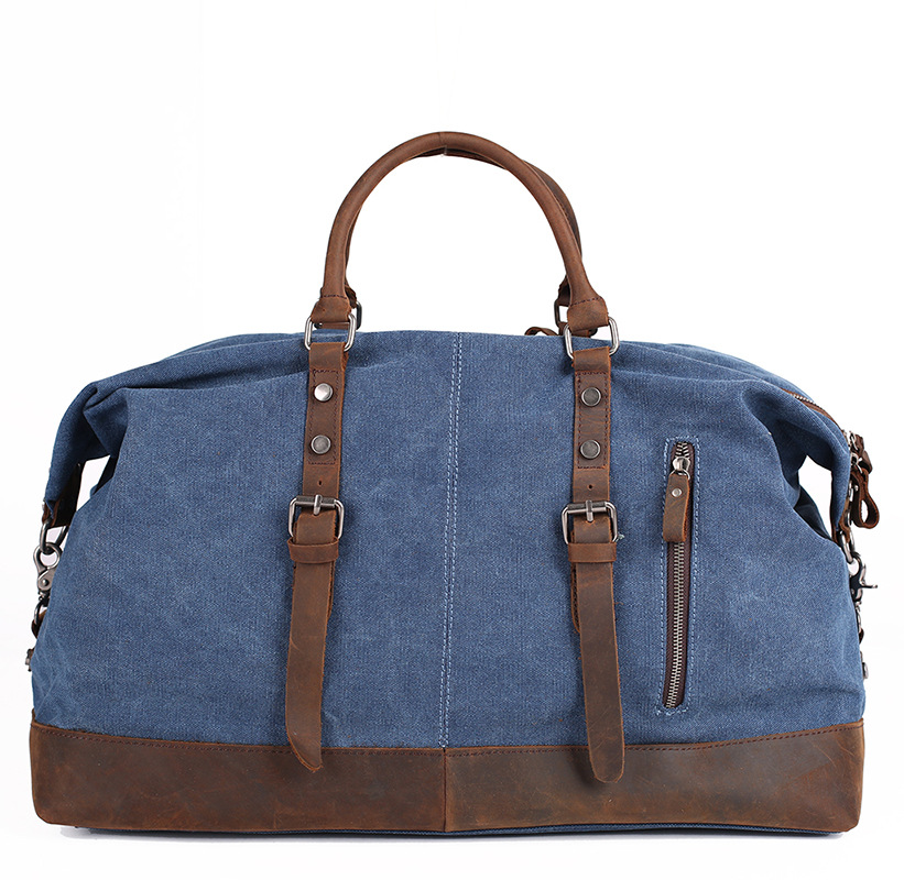 lona capacidade viajar bolsa para Tipo Pacote Internal Structure : Inside Pocket With a Zipper
