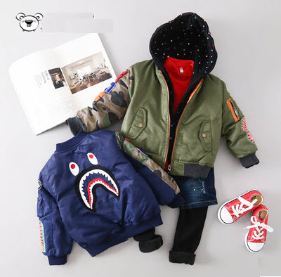 Infant Flight Jacket 05uZI9