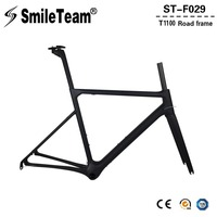 SmileTeam 2018 New T1100 Full Carbon Road Bike Frame Aero Monocoque Carbon Racing Bicycle Frame Di2