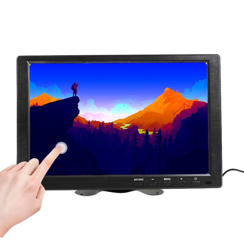 10.1 pouces IPS HDMI écran tactile capacitif 1280x800 moniteur LED pour PS3 4 Windows 7 8 10 VGA/AV USB ordinateur LED PC voiture affichage
