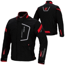 Free shipping 1pcs Men's Cool Outdoor Motocross Motorcycle Jacket Racing Suits Cycling Race Motobike Jacket with 5pcs pads