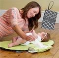 Hoja impermeable bebé cambiador cambiador de pañales de viaje portátil tabla Estación de Cambio Kit de Embrague Pañal productos de cuidado
