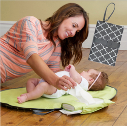 Waterproof baby changing mat sheet portable diaper changing pad travel table Changing Station Kit Diaper Clutch care products