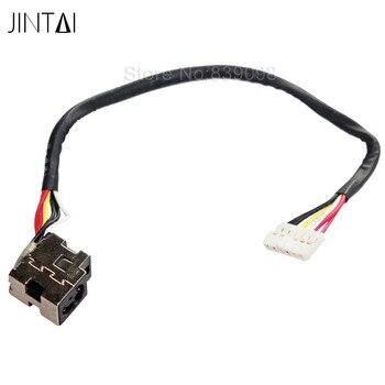 Connector dc jack with cable for laptop hp pavilion dv5 dv6 Compaq cq61 pj153