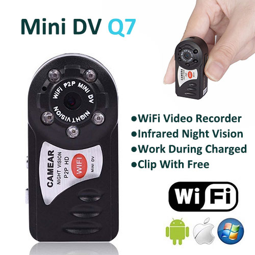 US $13 8 15% OFF|Original MD81S WiFi IP P2P Wireless Mini Camera Micro Cam  Remote Control IOS Android APP Camcorder Video Espia Action Candid-in Mini