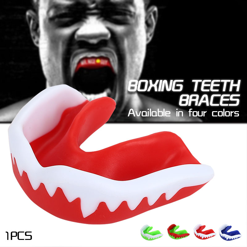 Boxing Mouth Guard Sports Adult Teeth Protector Protective Soft Comfortable Hot