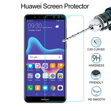 Tempered Glass On Huawei Honor 7A Pro 7C 7S 8X 9 10 Lite Honor Play Screen Protector For Huawei Y3 Y5 Y6 2018 Protective Glass(China)