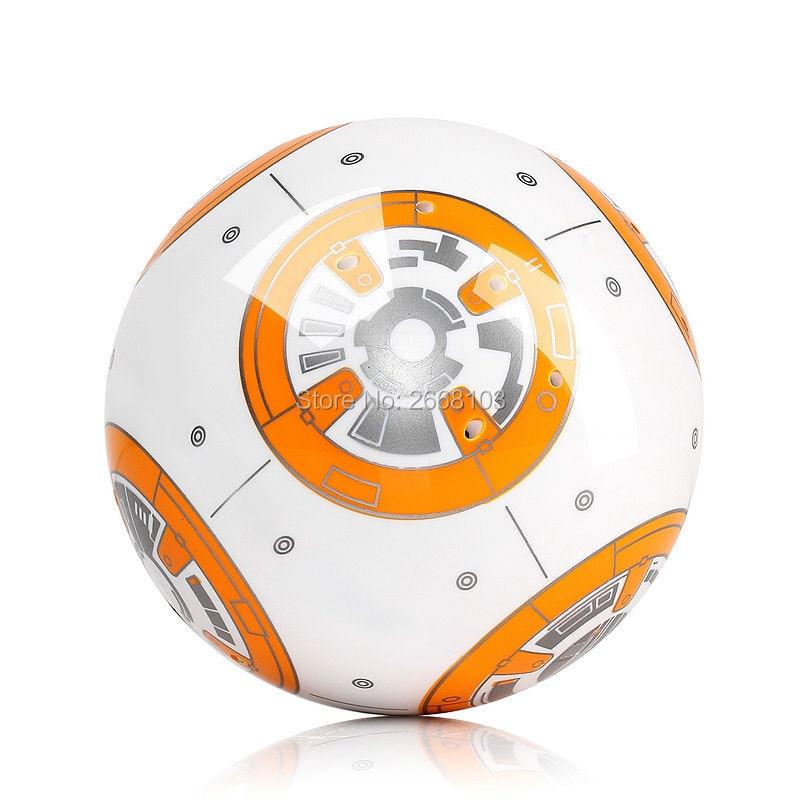 Rychlé dodání BB-8 Ball 20.5 cm Star Wars RC BB 8 Droid Robot 2.4G - Hračky s dálkovým ovládáním - Fotografie 6