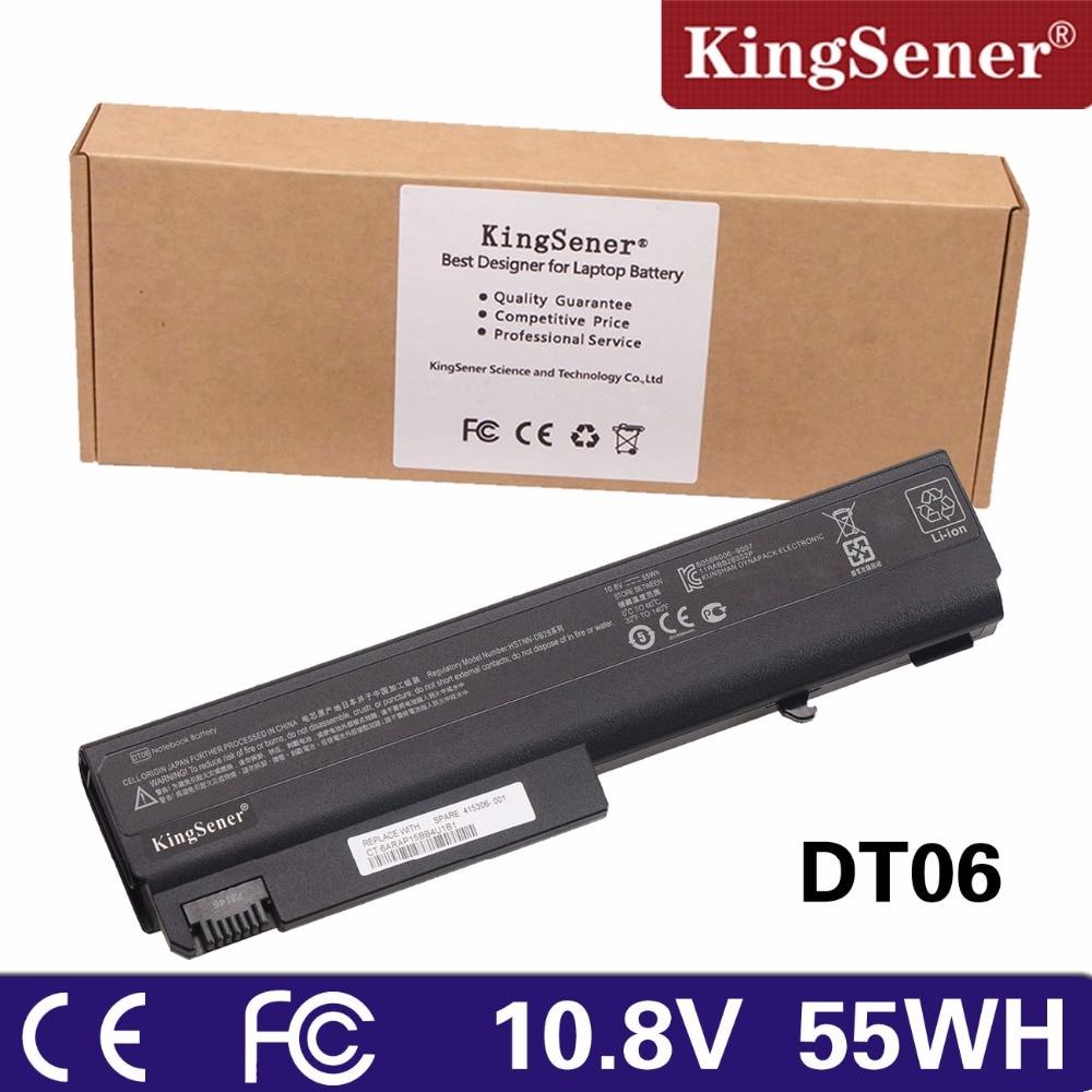 KingSener New Battery HP Compaq 6515B 6910P NC6200 NX6120 NC6100 6510B NC6220 NC6200 NC6400 NX6320 NC6120 DT06 HSTNN-DB28 цены