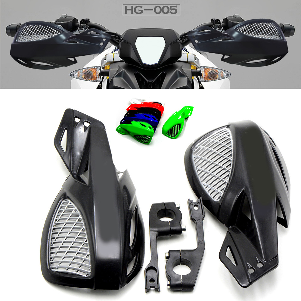Universal motorcycle wind shield handle hand guard ABS motocross Accessories transparent handguards for various models all year motorcycle accessories wind shield handle hand guards plastic motocross transparent handguards for honda big sheep fjs400 fjs600