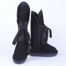 Mulheres Inverno Botas Altas Botas De Neve de Inverno Ankle Boots de Couro Genuíno das mulheres Sapatos de Pelúcia Quente Botas Femininas Plus Size 45