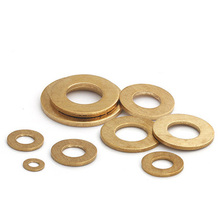 M10 M12 M14 M16 M18 M20 M22 M24 M30 Brass gasket washers flat pad thickened gaskets meson 20mm 54mm Outside Diameter