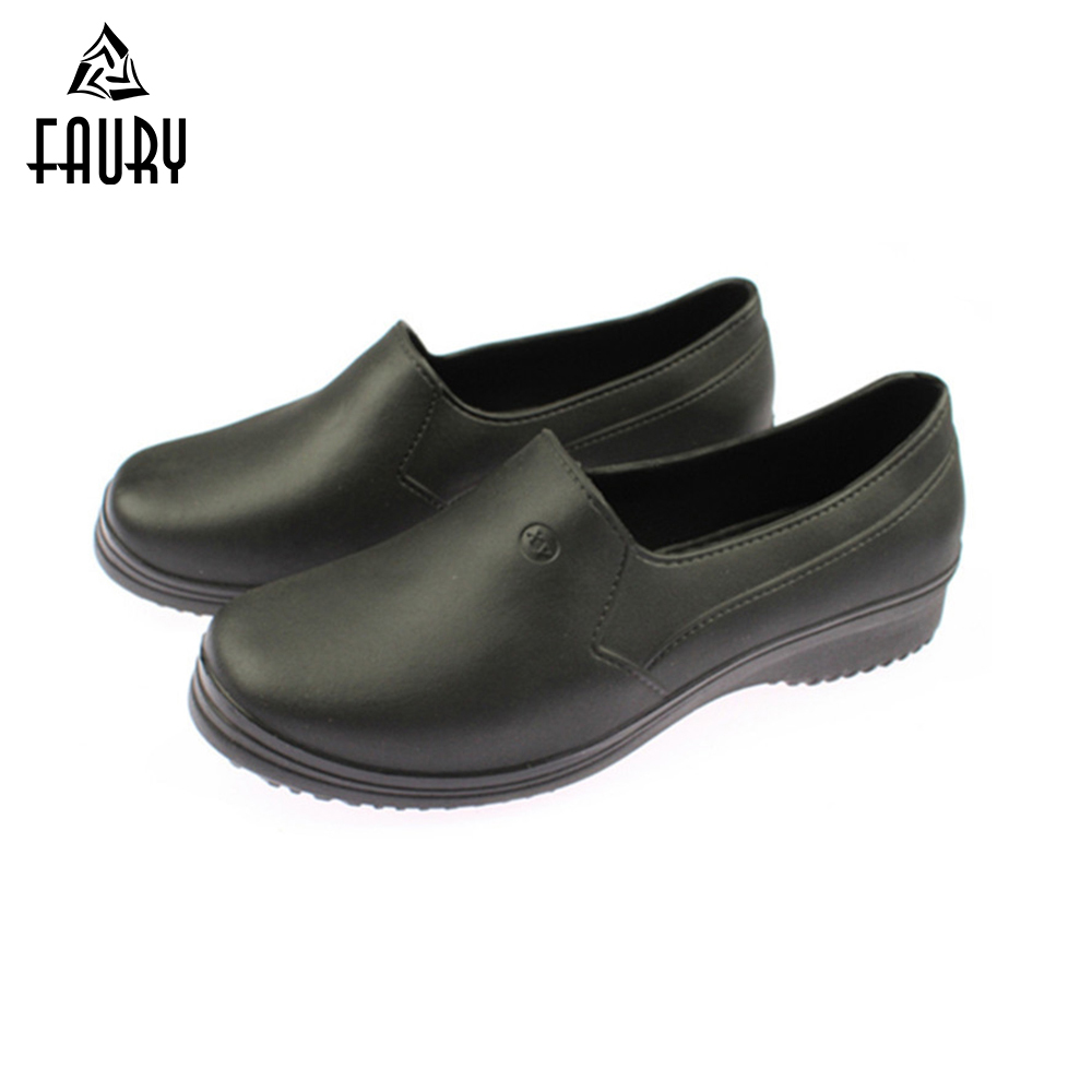 kitchen shoes cabinet design 2019 new female casual anti oil chef non slip medical men women lightweight skid hotel coffee shop bakery work canteen