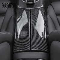Car styling Stowing Tidying Armrest box protect stickers cover For Mercedes Benz GLC C Class W205 X253 Interior Auto Accessories