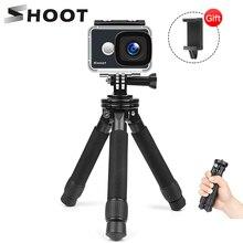 Снимать мини легкий алюминиевый штатив Настольный Штатив для путешествий стенд Штатив для GoPro Hero iPhone 7 6 Plus 5 цифровой зеркальной камеры Canon Nikon цифровых зеркальных фотокамер DSLR Камера