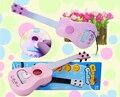 Simulação de brinquedos para crianças pode jogar educação precoce do bebê guitarra música tocando instrumentos de aço