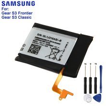 Samsung Original EB-BR760ABE Battery For Samsung Gear S3 Frontier SM-R760 SM-R770 SM-R765 Genuine Replacement Battery 380mAh
