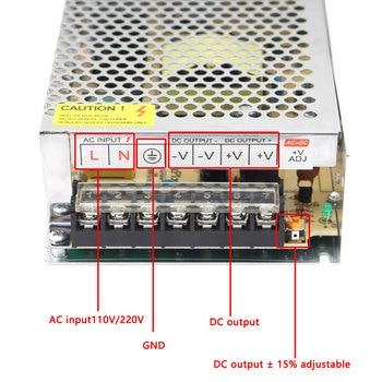 DC 24V 1A 2A 3A 5A 10A 15A 20A 24 V Volt Power Adapter LED Driver Switching Power Supply