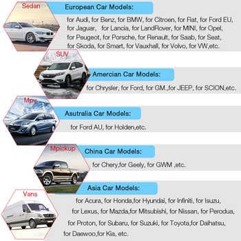 UCANDAS VDM V4.5 WIFI OBD2 Automotive Scanner Full system Auto Diagnostic Tool Multi-Language Car OBDII Scanner Free Update