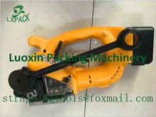 LX PACK Lowest factory price Battery Power Strapping machine Electric Plastic Strapping machine battery strapping tool