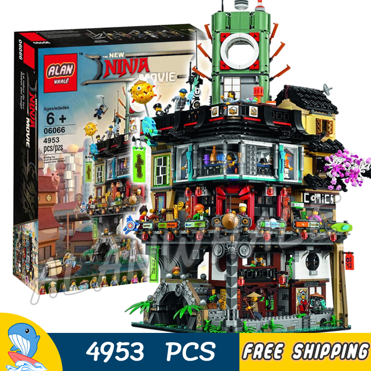 4953pcs New Ninja Great Creator City Construction 10727 Model Modular Building Blocks Teenagers Toys Bricks Compatible With lego lego city great vehicles буксировщик автомобилей 60081