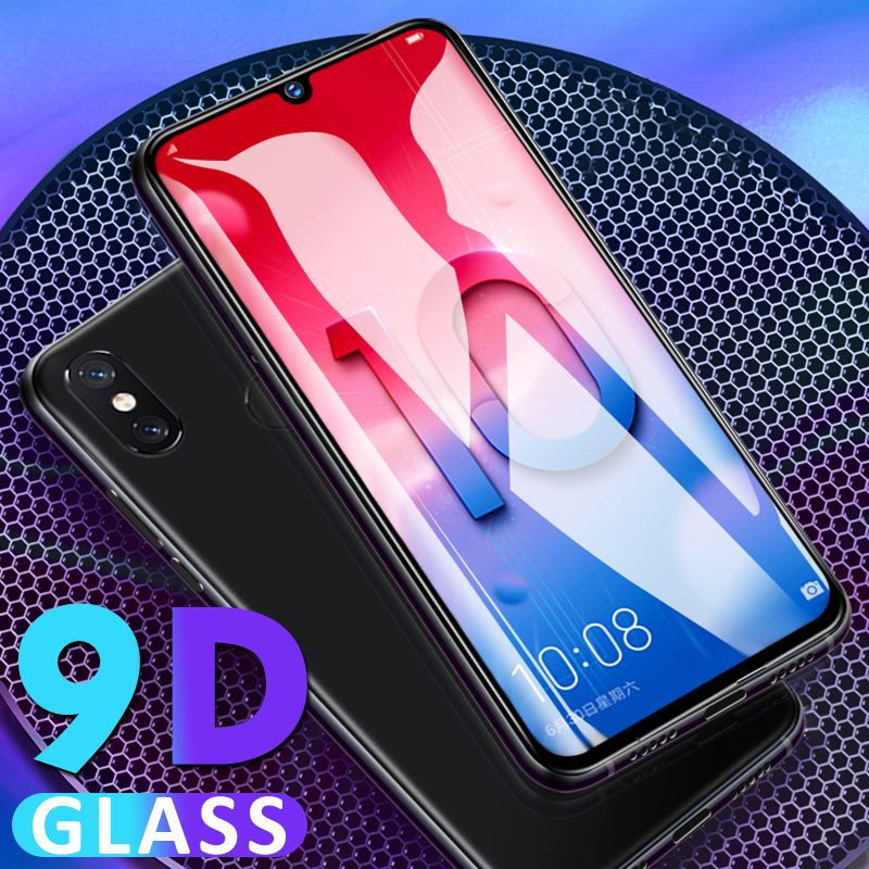 9D Tempered Glass For Huawei Honor 20 Pro 8X 8S 10 9 Lite 10i 20i V20 View 20 Full Cover Screen Protector HD Protective Glass