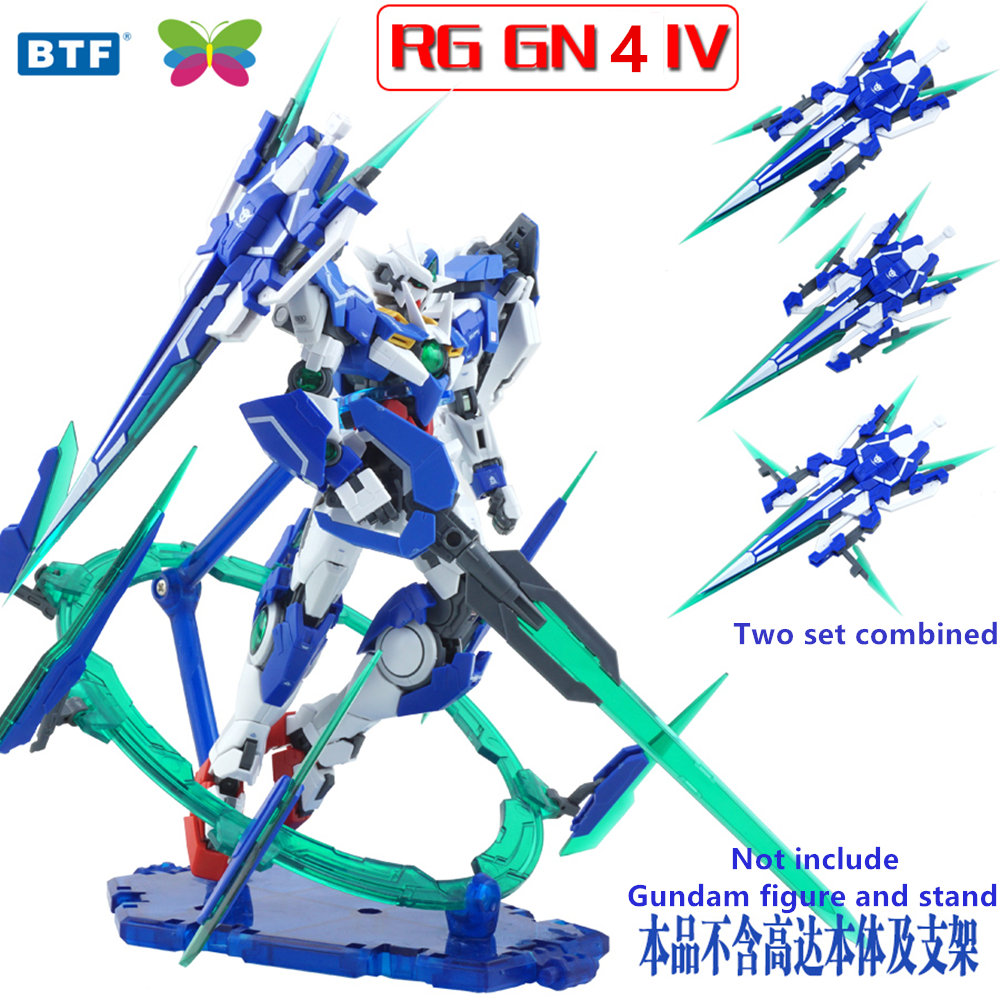 Free Shipping Tt Gg Gundam Model 1100 Flying Wing Ew Mg028 Wool Bandai 1 144 Hgoo Gnt 0000 00 Qant Qanta Btf Gn Sword Iv Full Saber For Rg Hg