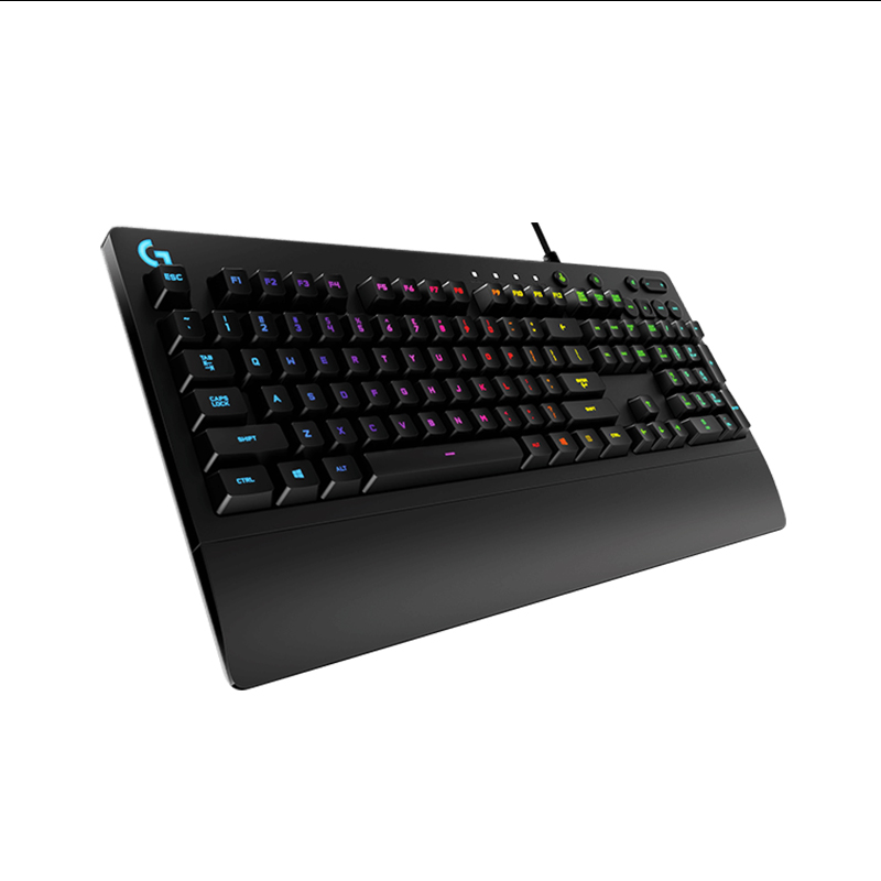 Logitech G213 Prodigy Gaming Keyboard with 16.8 Million Lighting Colors logitech logitech for ipad air ik1050 1 generation with integrated keyboard protection