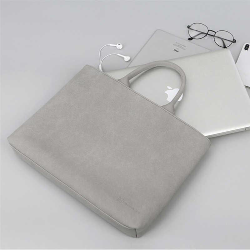 للماء متجمد بو الجلود حقيبة لابتوب للرجال النساء 13.3 14 15 15.4 15.6 بوصة الكمبيوتر كم جراب للماك بوك برو لينوفو HP