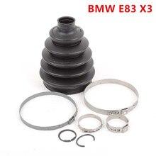 Передний Внешний CV joint boot для BMW E83 X3 engine M54 2.5L CV boot kit bmw приводной вал boot kit 31607529203