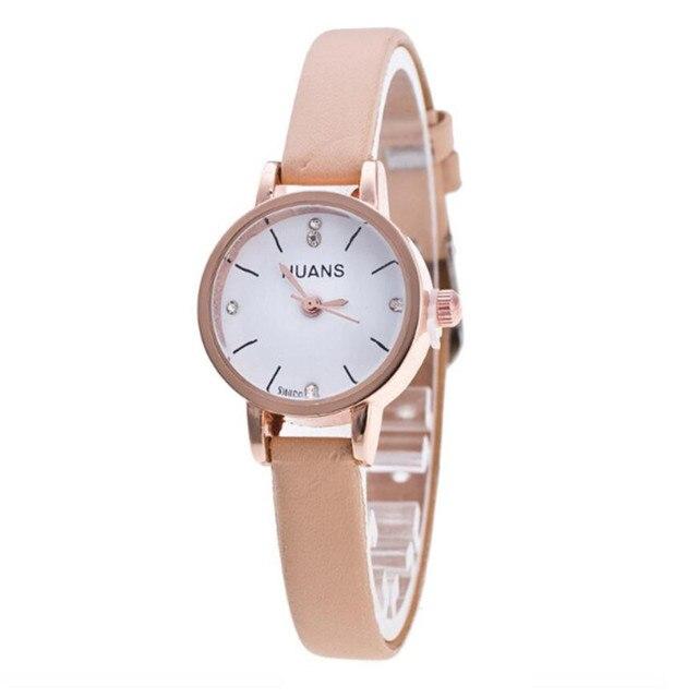 Minimalist Fashion Woman Strap Watch Travel Souvenir Birthday Gifts Classy Clock relogio feminino Gift With Diamond watch 2018  2