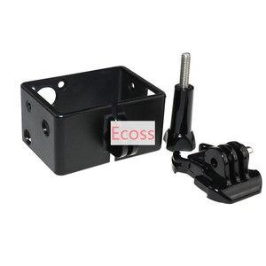 Image 4 - Gopro lcd bacpac gopro hero3/3 +/hero4 schermo lcd display + back door case cover + cornice estensione + buckle supporto per gopro accessori
