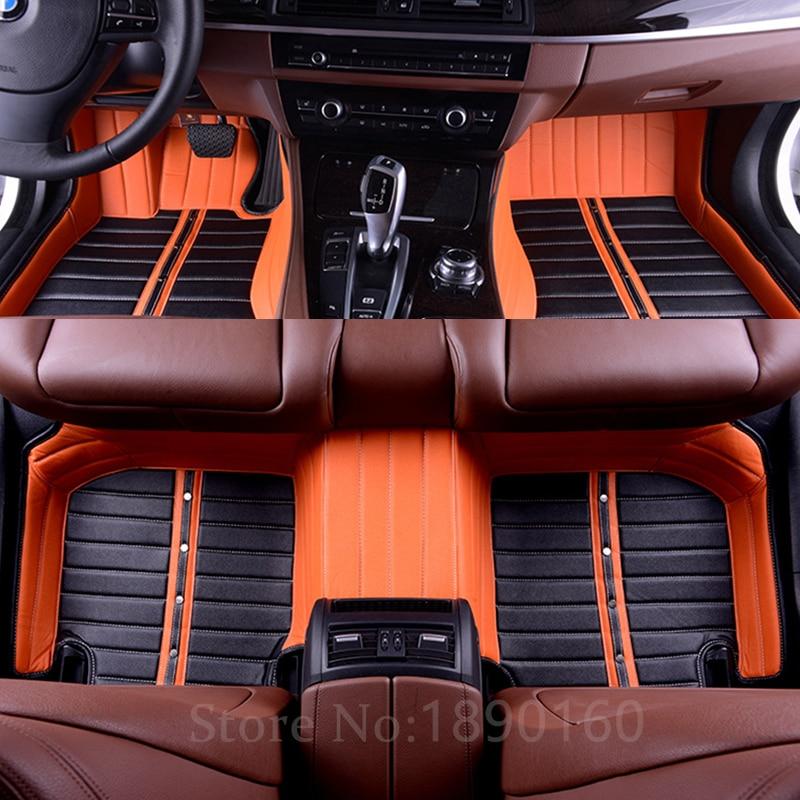 Custom car floor mats for ford all models mondeo focus for Auto flooring