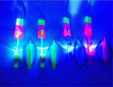 Флэш-игрушки ракетно вертолета удивительные стрелка ну вечеринку весело распродажа светодиодов из