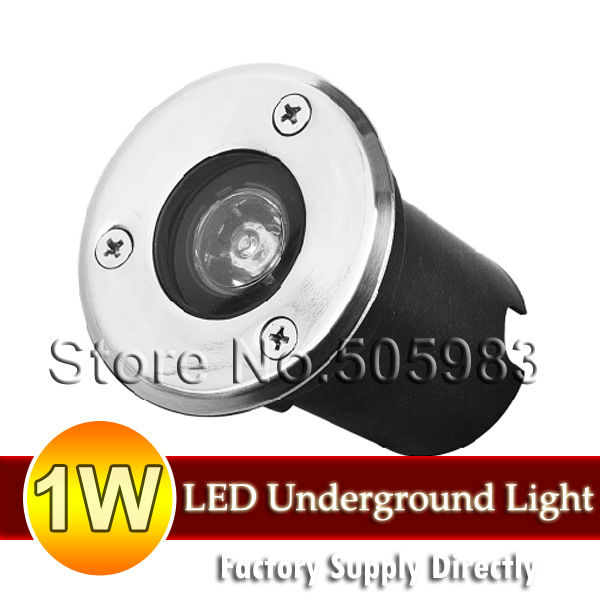 Fedex Ship 10PCS 1W DC12V LED Light Outdoor Recessed Deck Patio Landscape  Wall Floor Underground Lighting