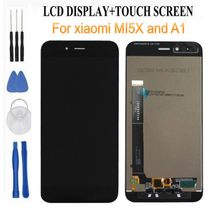 LCD Display+Digitizer Touch Screen Assembly For Xiaomi MI5X replace display for Xiaomi A1 free tools as gift(China)