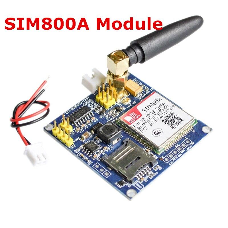 2 шт. SIM800A модуль \ коротких сообщений \ развитию \ GSM \ GPRS \ STM32 \ превышать SIM900A \ a6 51/STM32/MP430 SCM для UNO/Raspberry Pi