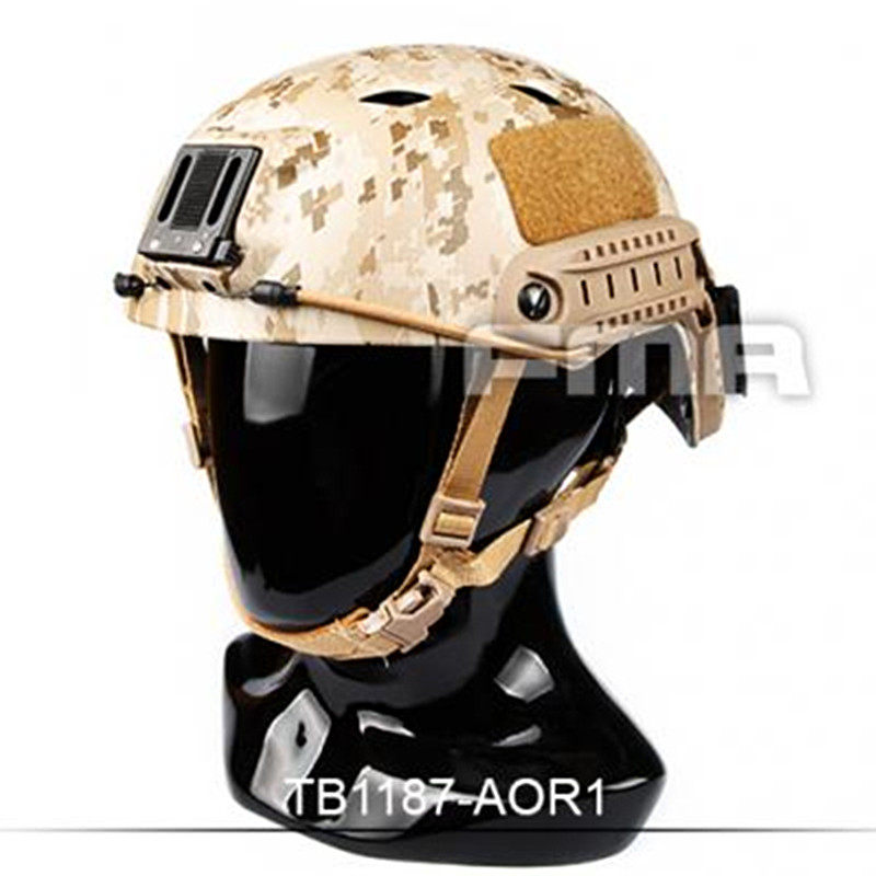 Sports Helmet New AirsoftSports TB-FMA ACH Base Jump Helmet AOR1(L/XL) for Hunting Airsoft Paintball Helmet with Free Shipping