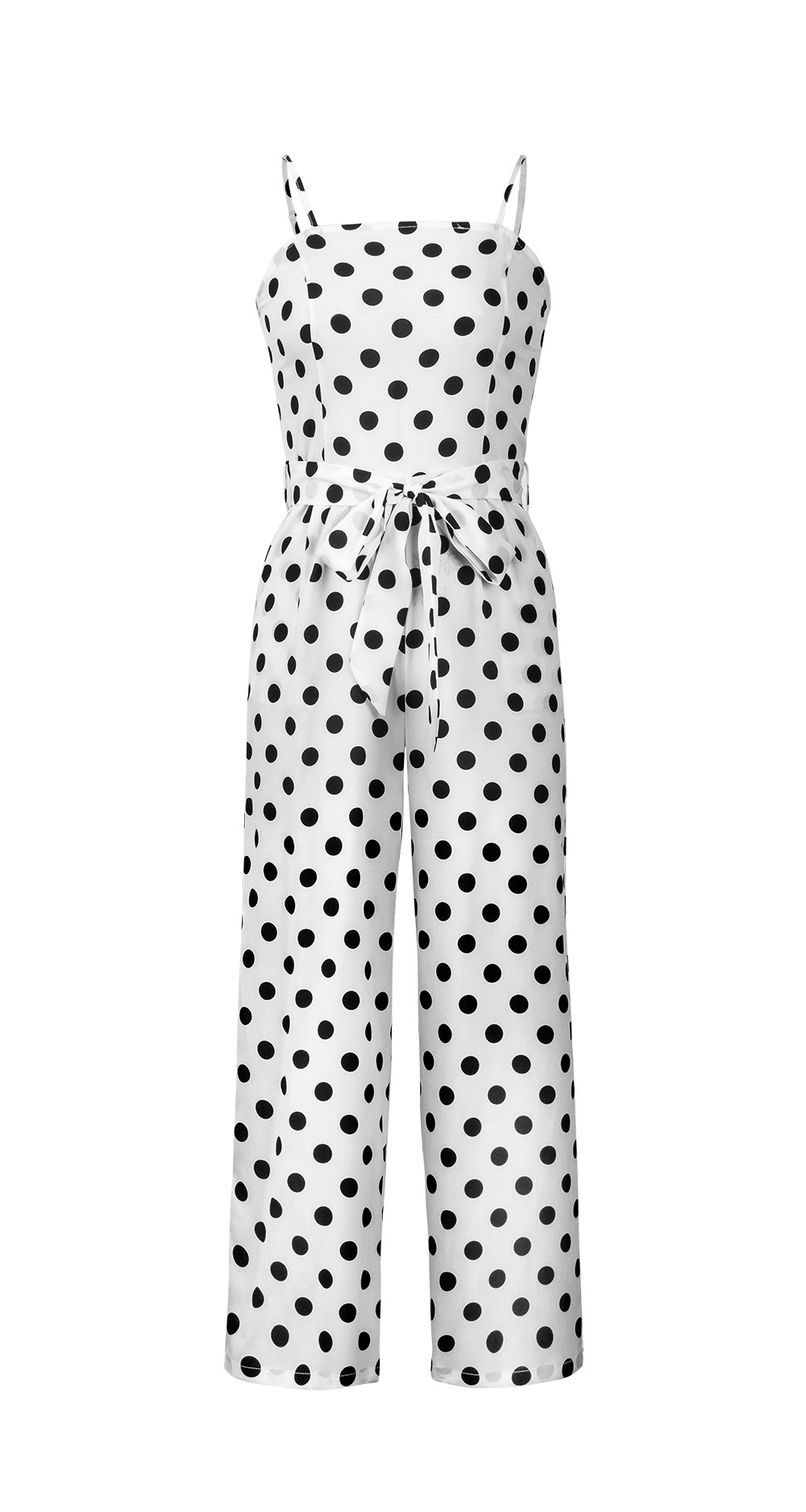 HTB1FDoBbizxK1Rjy1zkq6yHrVXaS - Women Rompers summer long pants elegant strap woman jumpsuits polka dot plus size jumpsuit off shoulder overalls for womens