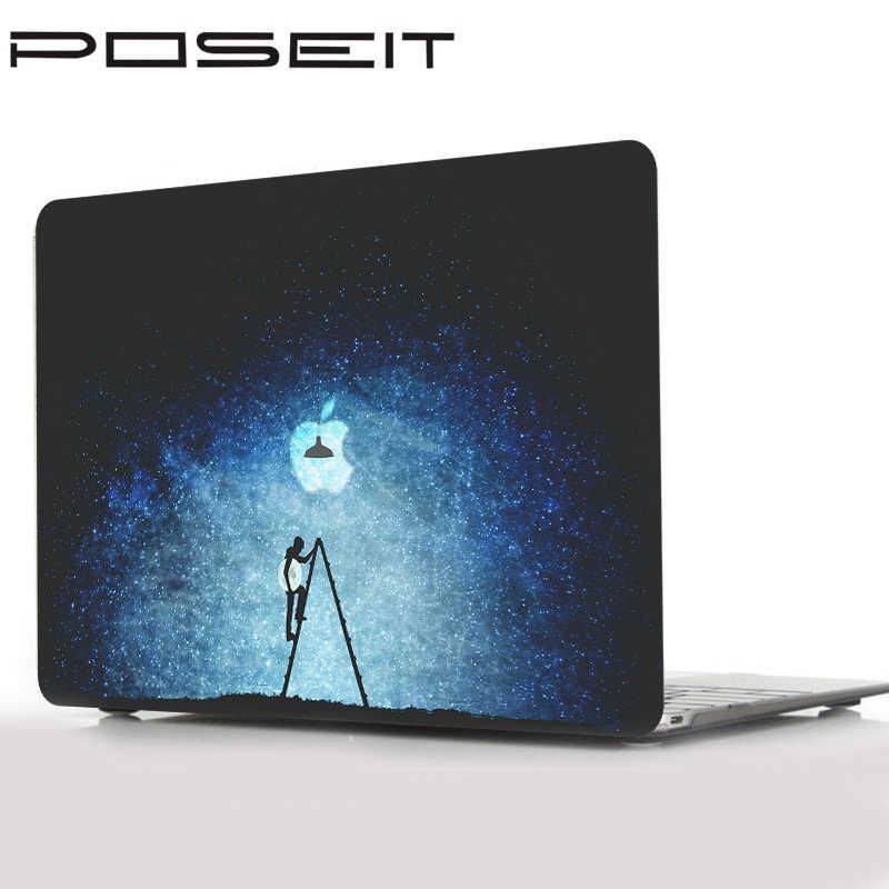 Peau de couverture de clavier de coque de étui rigide d'impression pour Apple Macbook Pro 13 15 16 pouces Air Touchbar Retina 11 12 13 pouces étui pour ordinateur portable