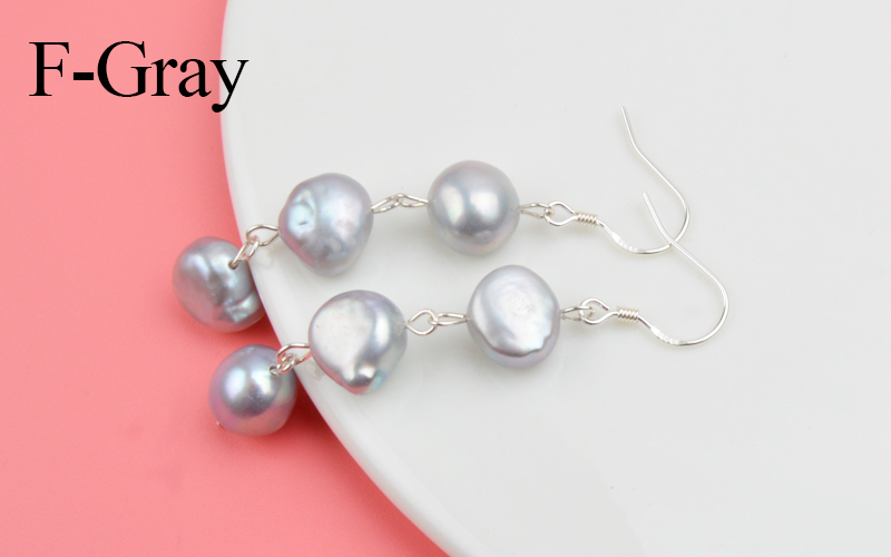 HTB1FDoLNSzqK1RjSZFjq6zlCFXaG - ASHIQI Natural Freshwater Pearl Earrings Real 925 Sterling Silver long korean earrings for Women Big Baroque pearl Jewelry Gift