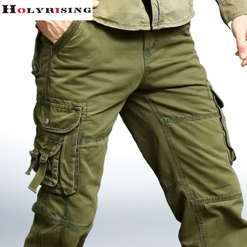 6 pocket cargo pants for men - Pi Pants