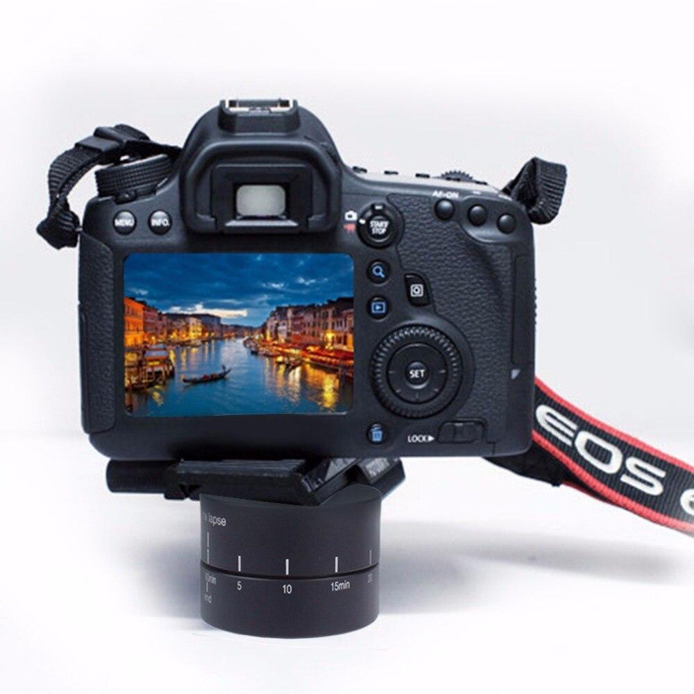 Time lapse 360 gradi di Rotazione Automatica Camera tripod testa base 360 TL timelapse Per Xiaoyi per Gopro Macchina Fotografica REFLEX per iphone andriod