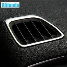 Alijunda, автомобильная верхняя крышка из нержавеющей стали, украшение для Opel Mokka 2013- BUICK ENCORE, автомобильные аксессуары, 2 шт./набор