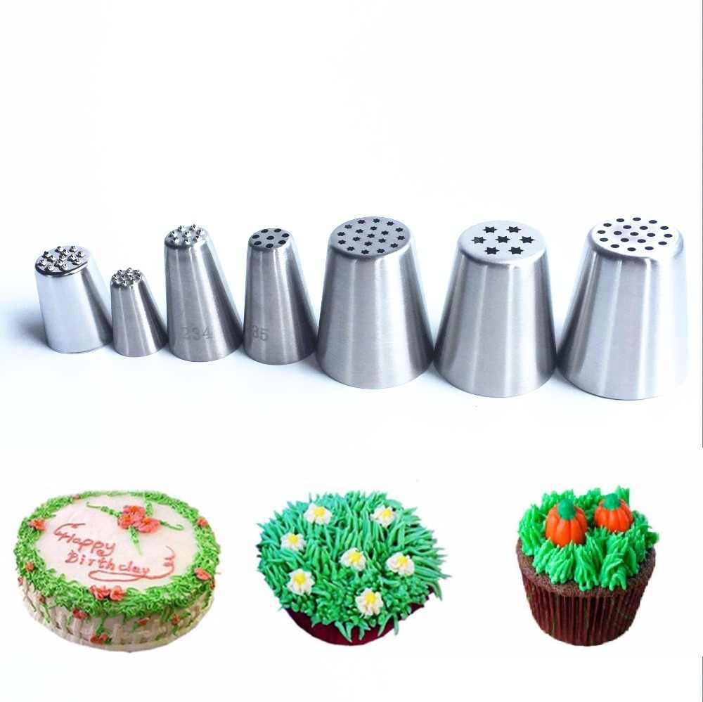 #233  234 235 russian piping nozzle grass cake nozzles tips 1 pc can choose the item from pic