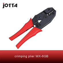 WX-6GB crimping tool crimping plier 2 multi tool tools hands Mini-Type Ratchet Crimping Plier (European Style) fsb 054yj 0 5 1 5 1 5 2 5 4mm super strength saving mini type crimping plier