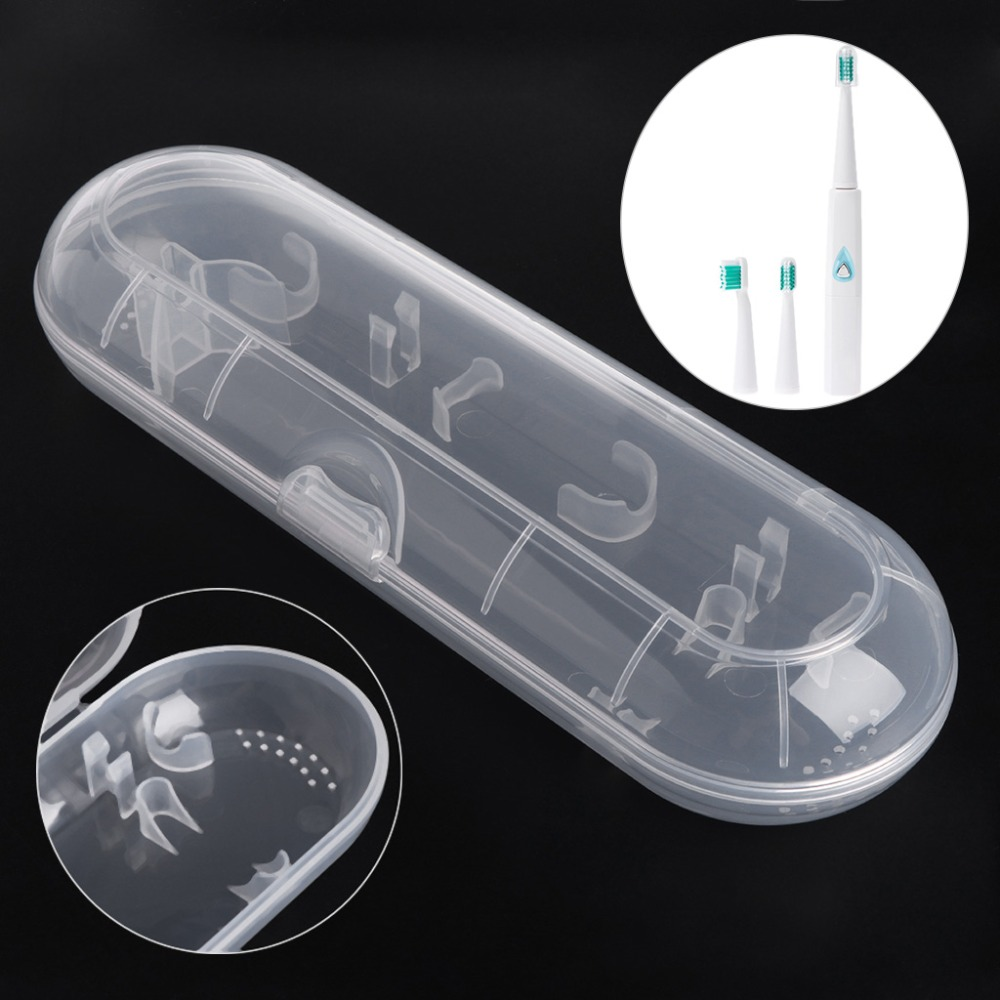 Electric Toothbrush Holder Cover Case Travelling Portable Brush Box For Oral-B image