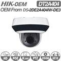 <font><b>Hikvision</b></font> оригинальная PTZ ip-камера DS-2DE2A404IW-DE3 обновляемая 2,8-12 мм 4x зум с POE H.265 CCTV видеонаблюдение