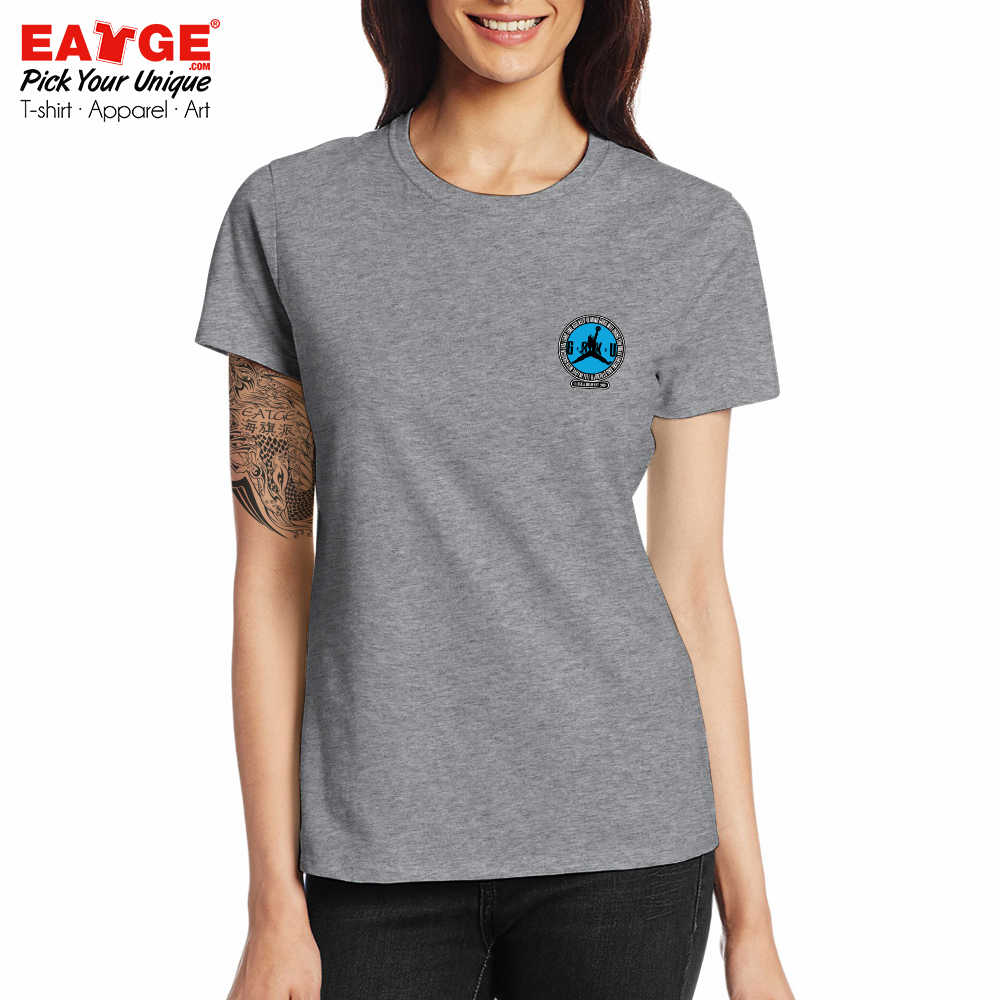 Футболка Goku Air с логотипом Dragon Ball Parody, крутая футболка с принтом для катания на коньках, креативная Новинка для женщин и мужчин, хлопковый двусторонний серый топ